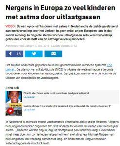 De Nederlandse buitenlucht is ernstig vervuild. Het is op te lossen door bomen te plaatsen die lucht schoon filteren,