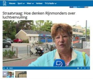Luchtvervuiling in Rijnmond is dramatisch. Weten de Rijnmonders dit ook eigenlijk? Hoe kijken ze tegen schone lucht?