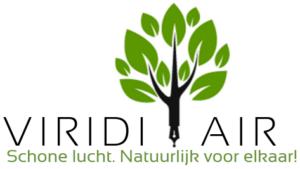Schone lucht - Viridi Air Logo