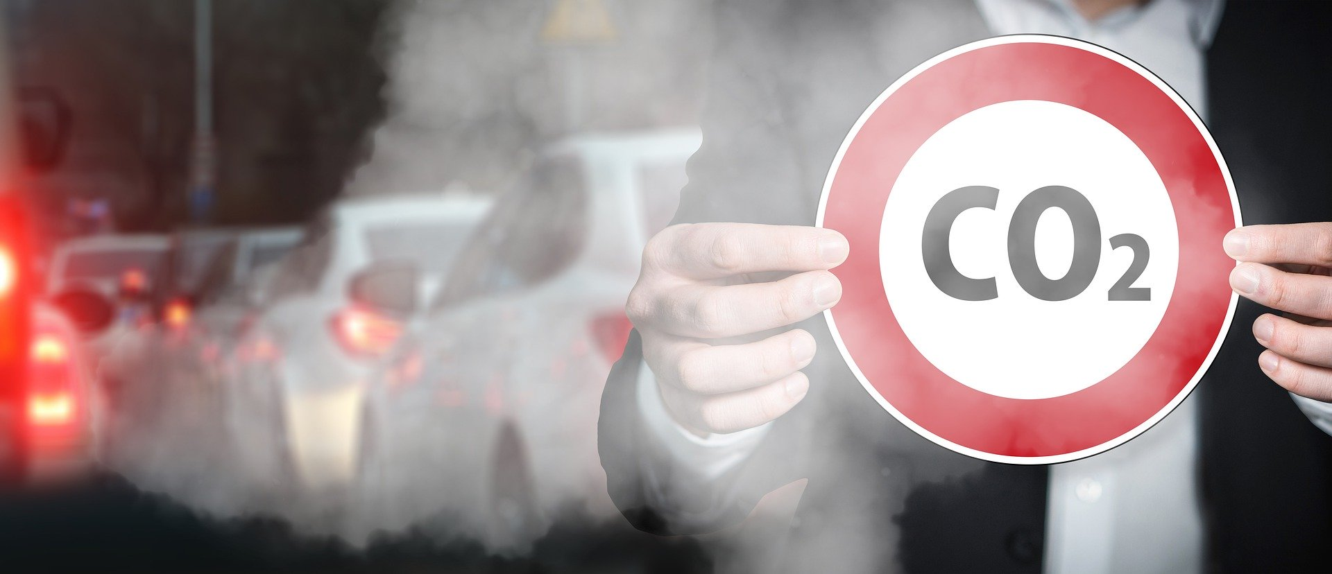 CO2 zweeft in de buitenlucht maar het 'vervuilt' niet