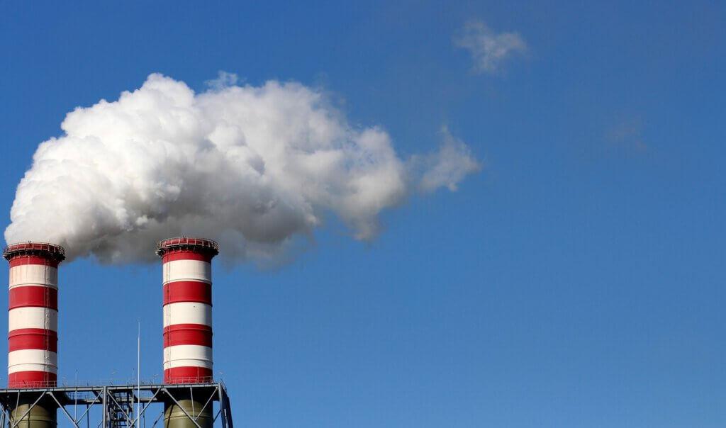 Luchtvervuiling van de buitenlucht