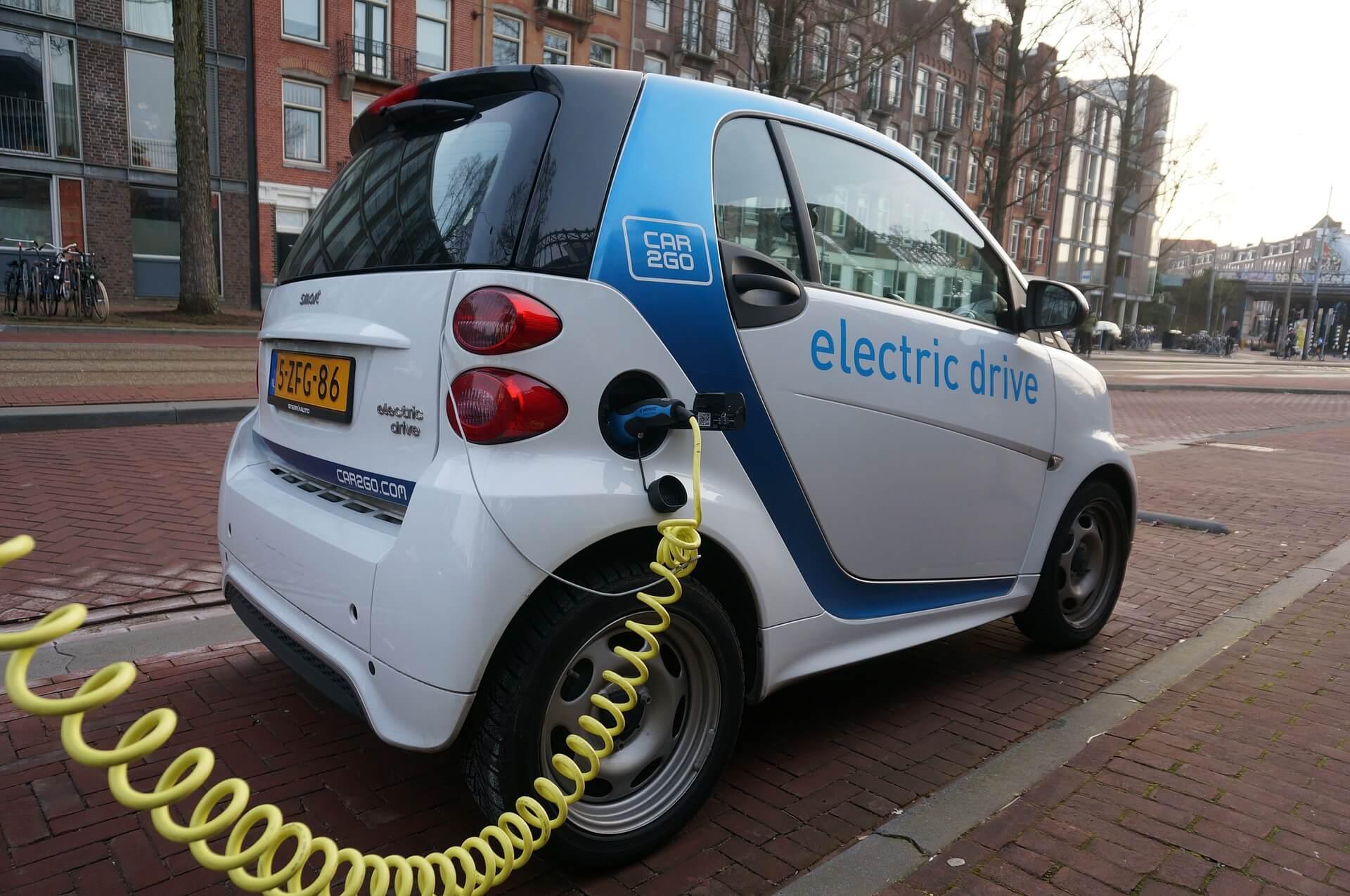 elektrische auto luchtvervuiling