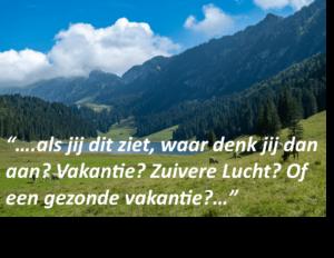 schone lucht Healthy Hme Holland