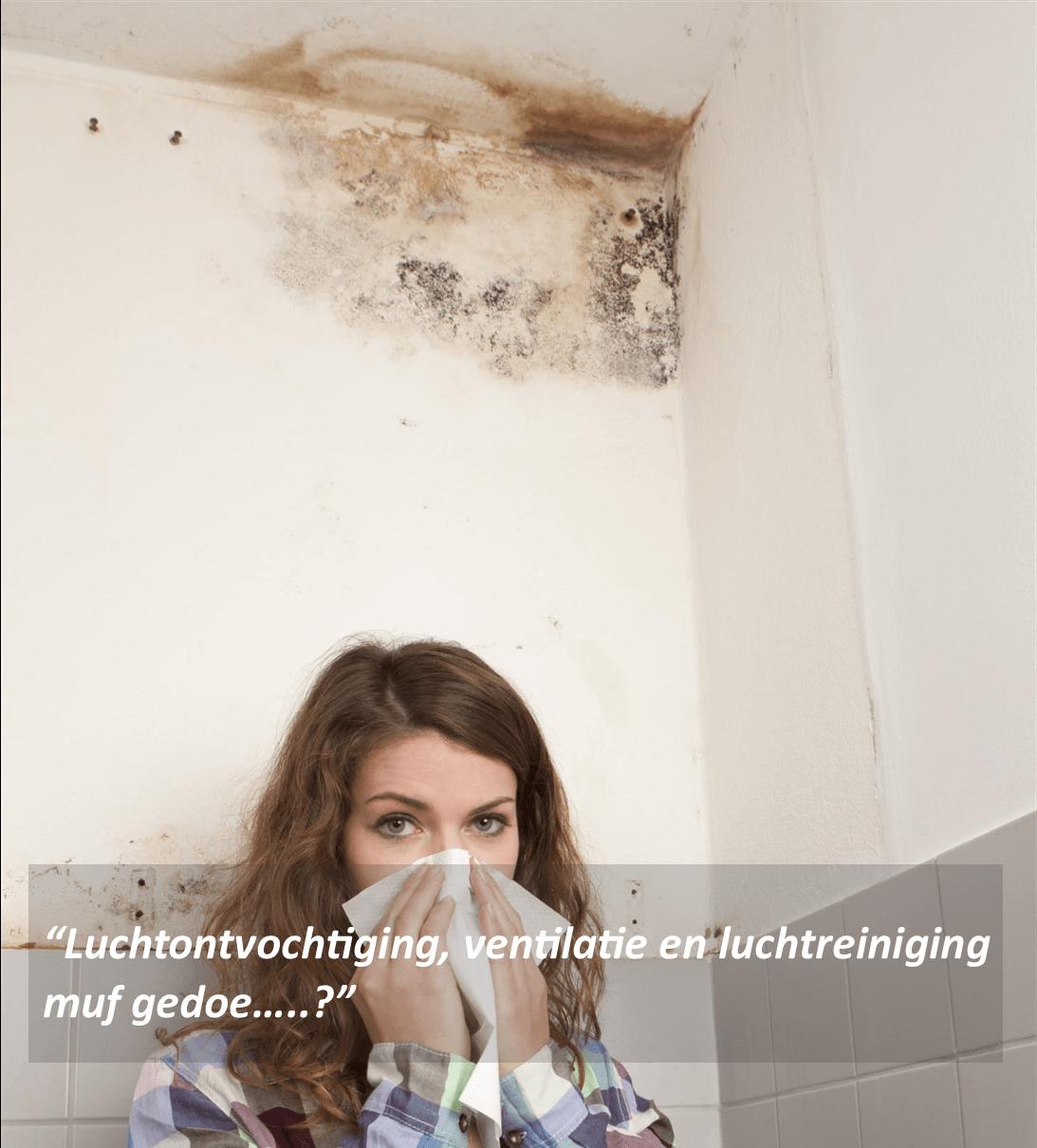luchtreiniging muffe lucht