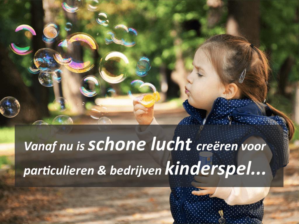 schone lucht is kinderspel